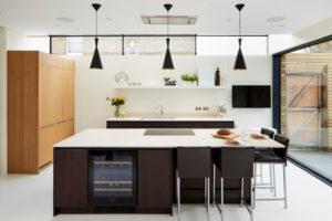 Contemporary modern kitchen extension Richmond