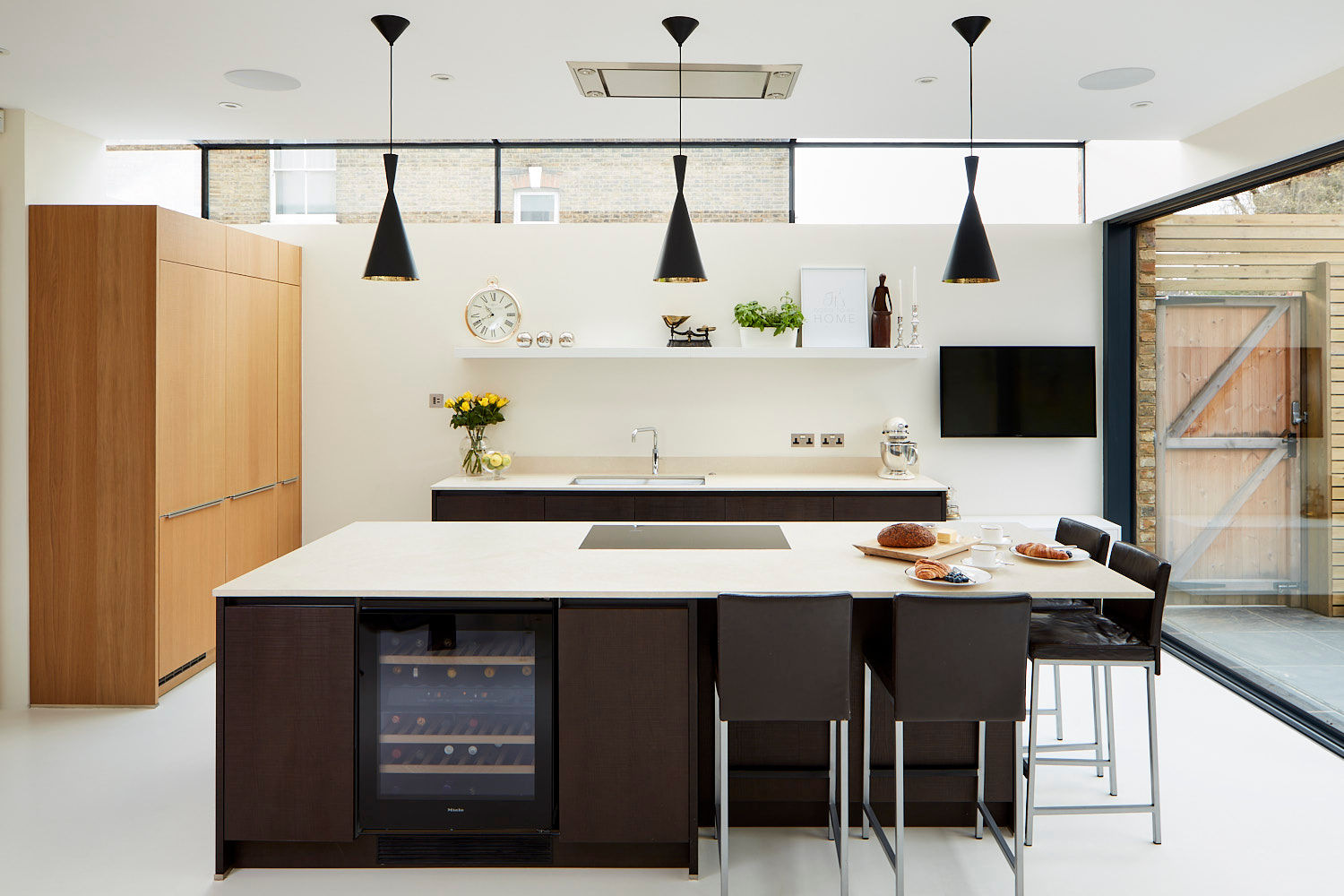 Contemporary modern kitchen extension Richmond