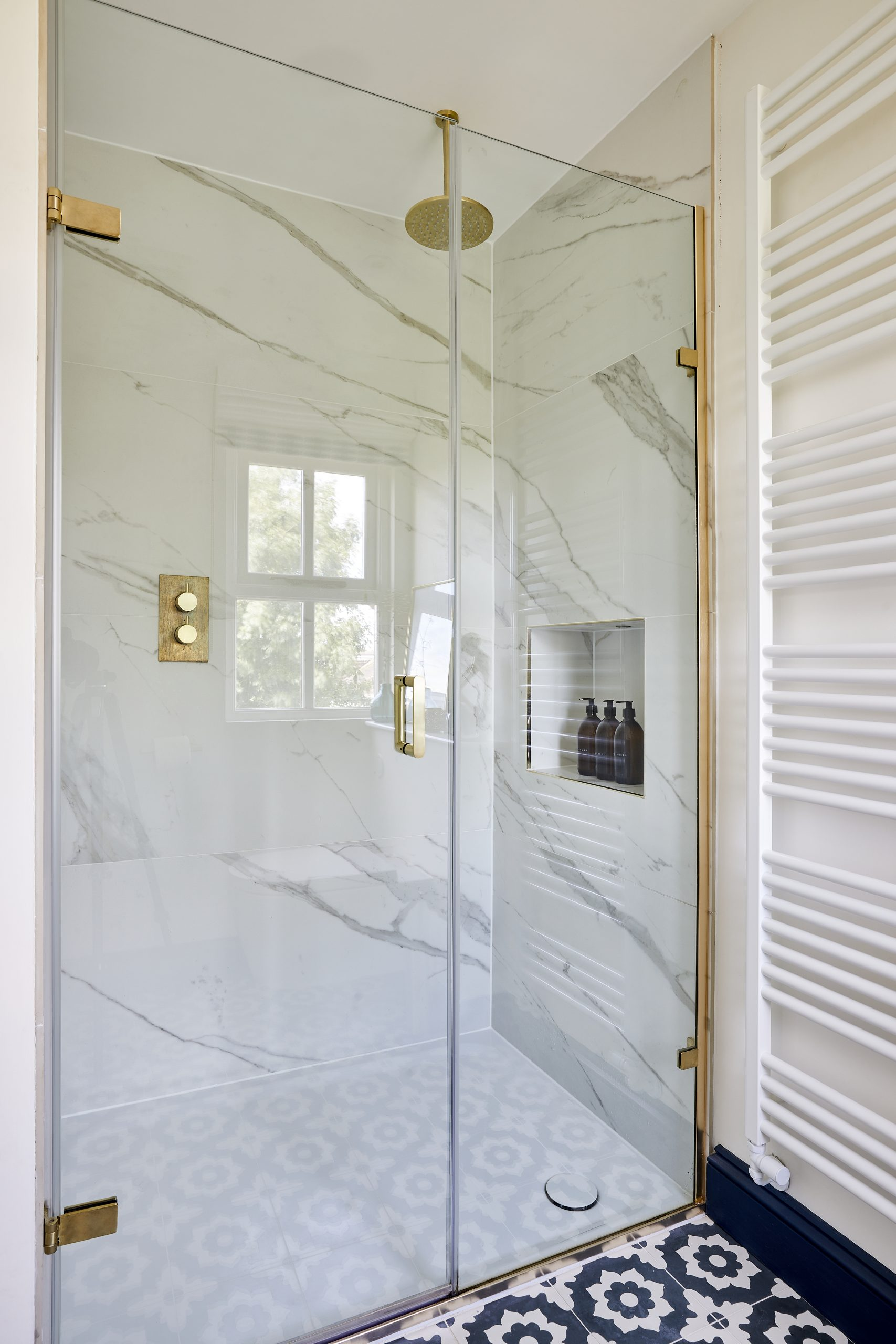 Master Ensuite Loft shower