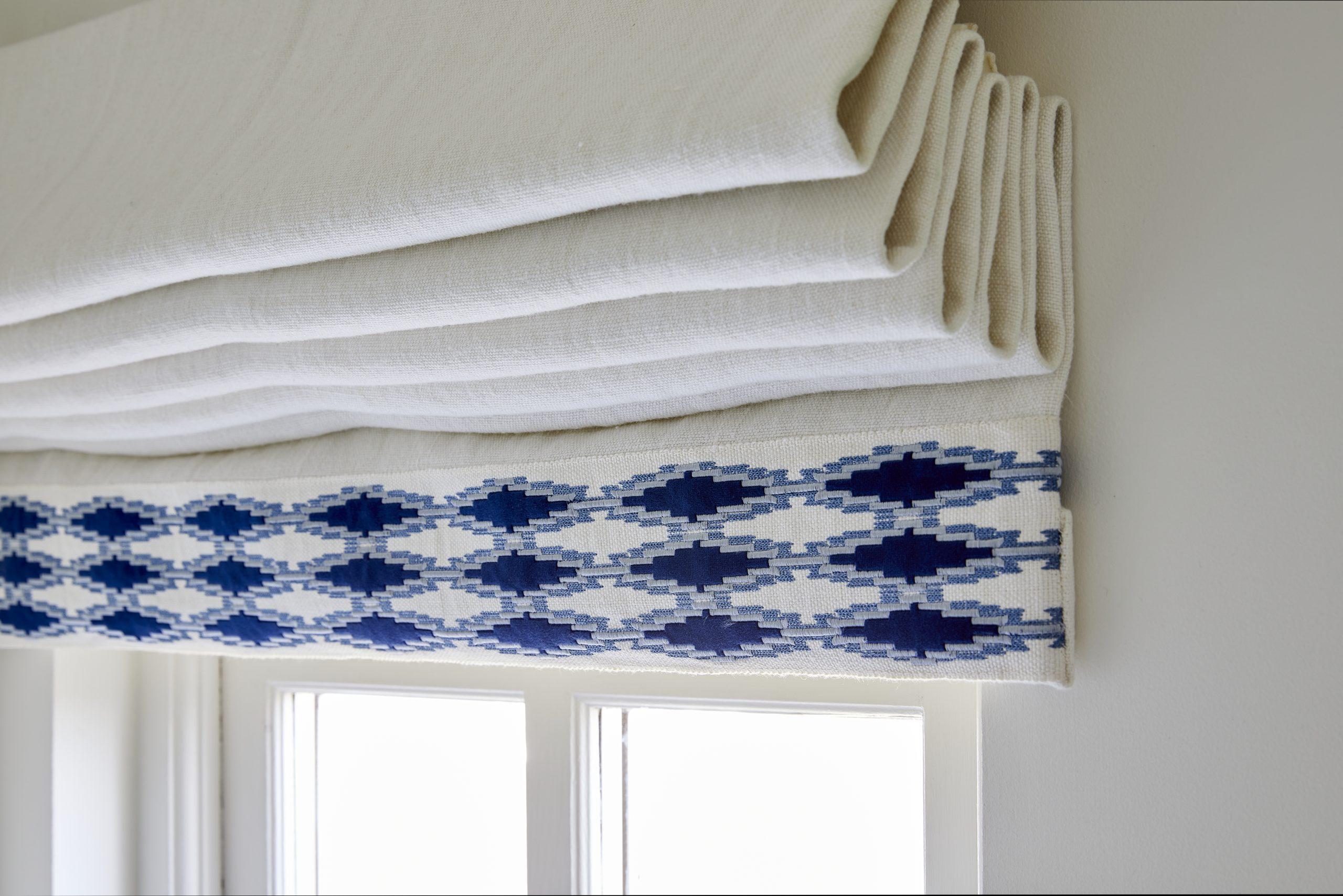 Loft Master Ensuite curtain detail